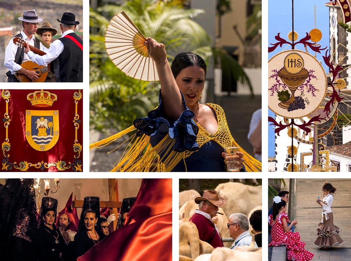 Fiestas auf La Palma