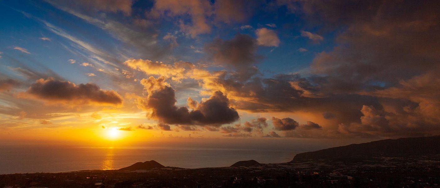 Sonnenuntergang La Palma